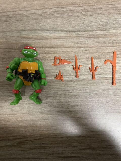 Vintage Ninja Turtles Raphael Playmates Toys 1988