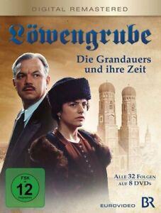 8-DVDs-LOWENGRUBE-BOX-DIE-GRANDAUERS-UND-IHRE-ZEIT-ALLE-FOLGEN-NEU-OVP
