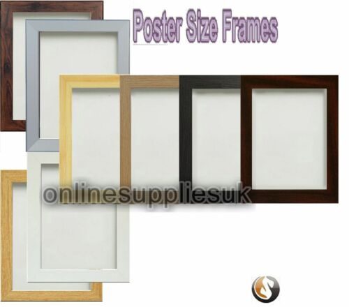 PICTURE FRAME PHOTO FRAME WOOD EFFECT VARIOUS SIZES BLACK OAK WHITE ...