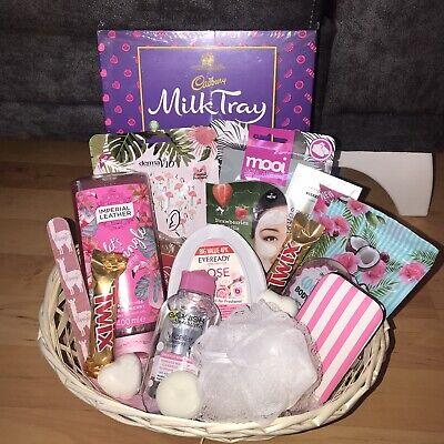 Womens Gift Idea Hamper Basket Hamper Gift Birthday Easter Thank You Mum Nan Sis Ebay