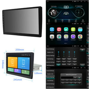 Android-8-1-HD-10-1inch-Single-1DIN-Car-Stereo-Radio-Player-WIFI-GPS-Mirror-Link