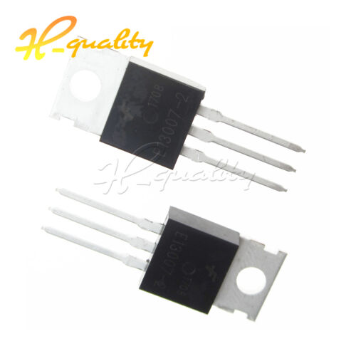 TO-220 E13007-2 Amp Output IC HIGH QUALITY 10//50PCS Transistor Date Code 12