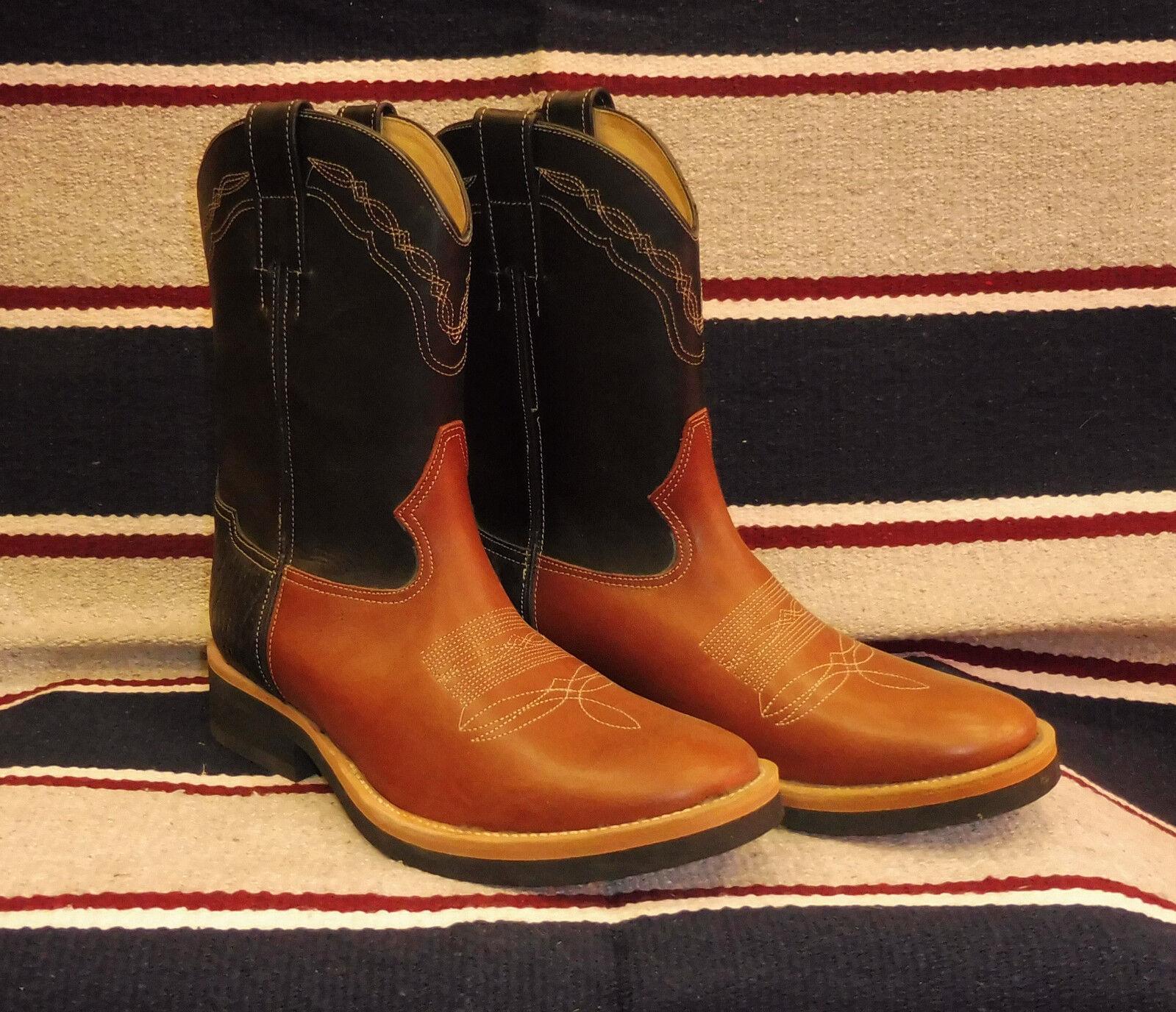 620 Stivali stivale roper texani country western cowboy BARKLEY microcrepe 43