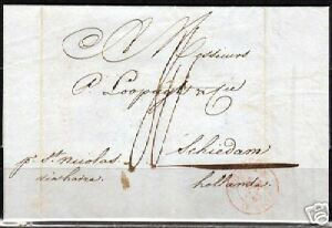 Netherlands-1842-folded-letter-from-NY-by-St-Nicholas