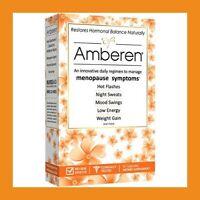 Amberen Menopause Relief Restores Hormonal Balance, 60 Capsules, 400mg - Usa