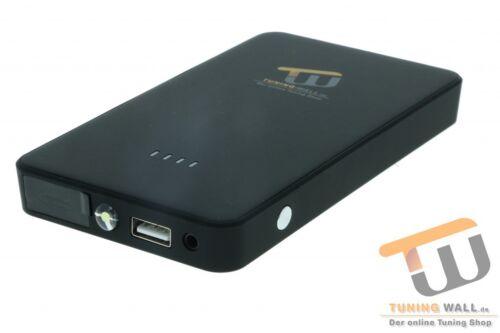Mobile Starthilfe Booster 12V //Powerbank USB 2A//5V Mini Starthilfe Gerät für KIA