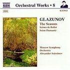 Alexander Glazunov - : Orchestral Works, Vol. 8 (1998)