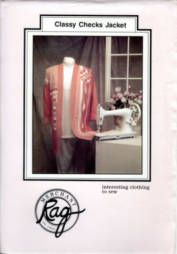 CHOICE RAG MERCHANT Sewing Quilting Jacket Patterns Interesting Clothing to Sew