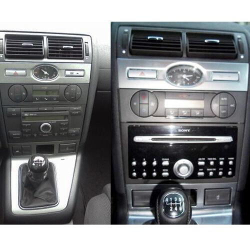 Ford Mondeo MK3 Car Stereo Fascia Panel /& Steering Wheel Interface Kit CT24FD08