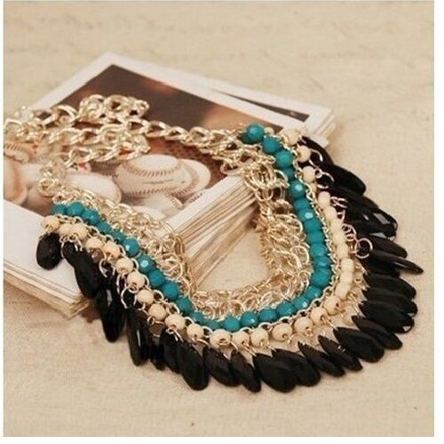TRADITIONAL STATEMENT NECKLACE PRICE REDUCED