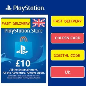 Sony-UK-Playstation-Network-Playstation-Store-PSN-GBP-10-Pounds-Code-PS4-PS3