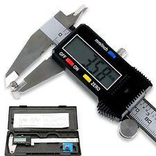"6"" 150mm Digital Vernier Caliper Electronic Micrometer Depth Measurement + Case"