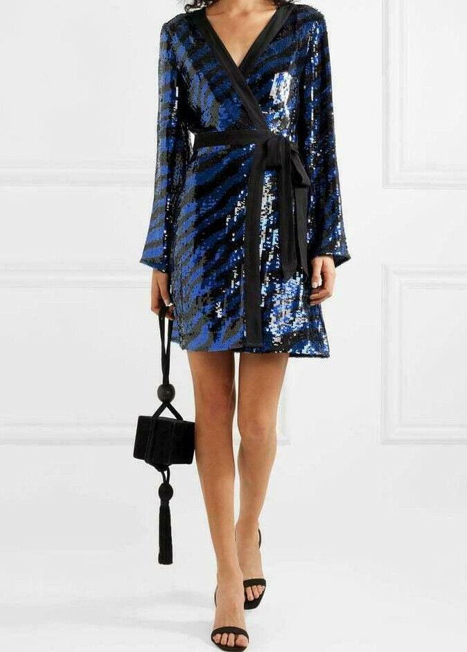 RIXO London  Maria mini wrap dress  Centro comercial profesional integrado en línea.