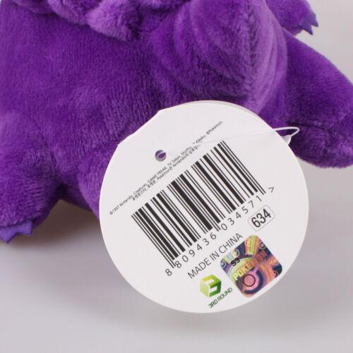 "5/"" 13Cm Gengar Pokemon Plush Toys Soft Doll Key Chain Ring Pendant Bag Strap"