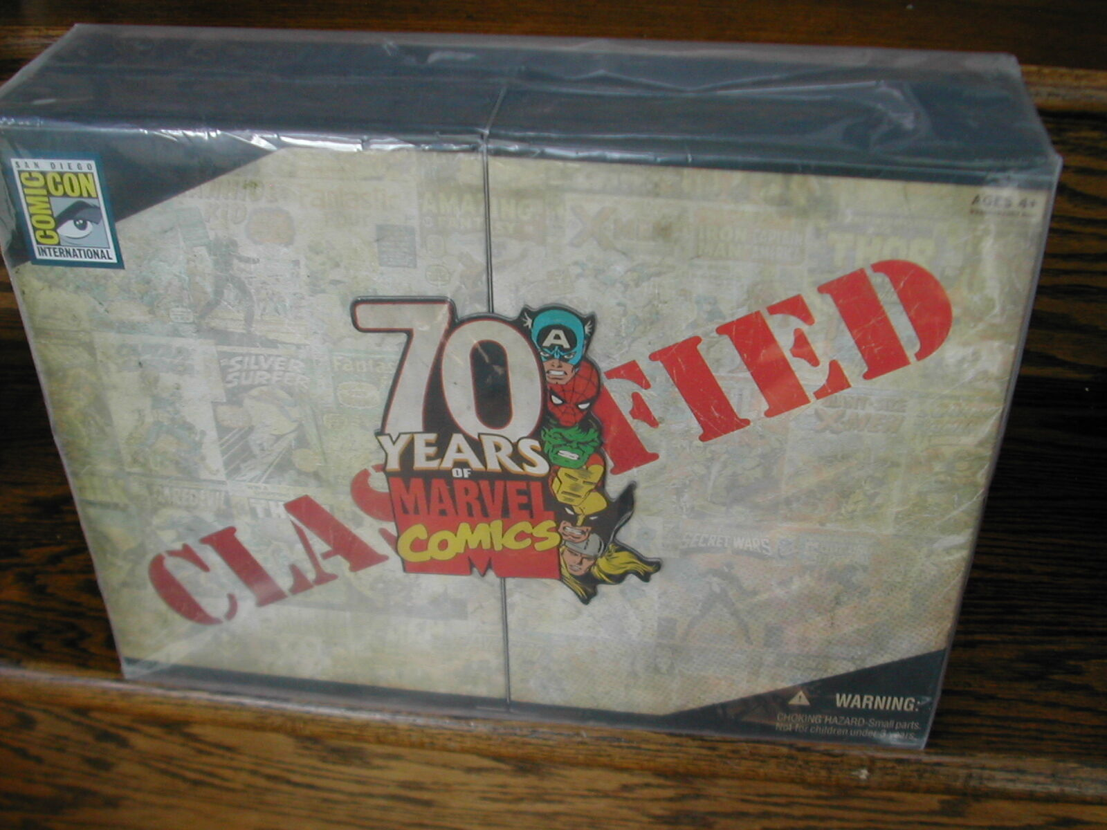 '09 SD Comic Con 70th Anniversary Years of Marvel Universe Invaders 4 Figure Set
