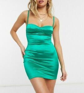 MOTEL-ROCKS-Leta-Dress-in-Emerald-Satin-Green-mr106