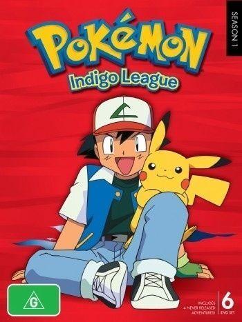 1 of 1 - Pokemon - Indigo League : Season 1 (DVD, 2010, 6-Disc Set) Anime