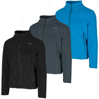 Jack Wolfskin Moonrise Men Jacket Herren Outdoor Fleece Jacke Zip Hoodie 1702064