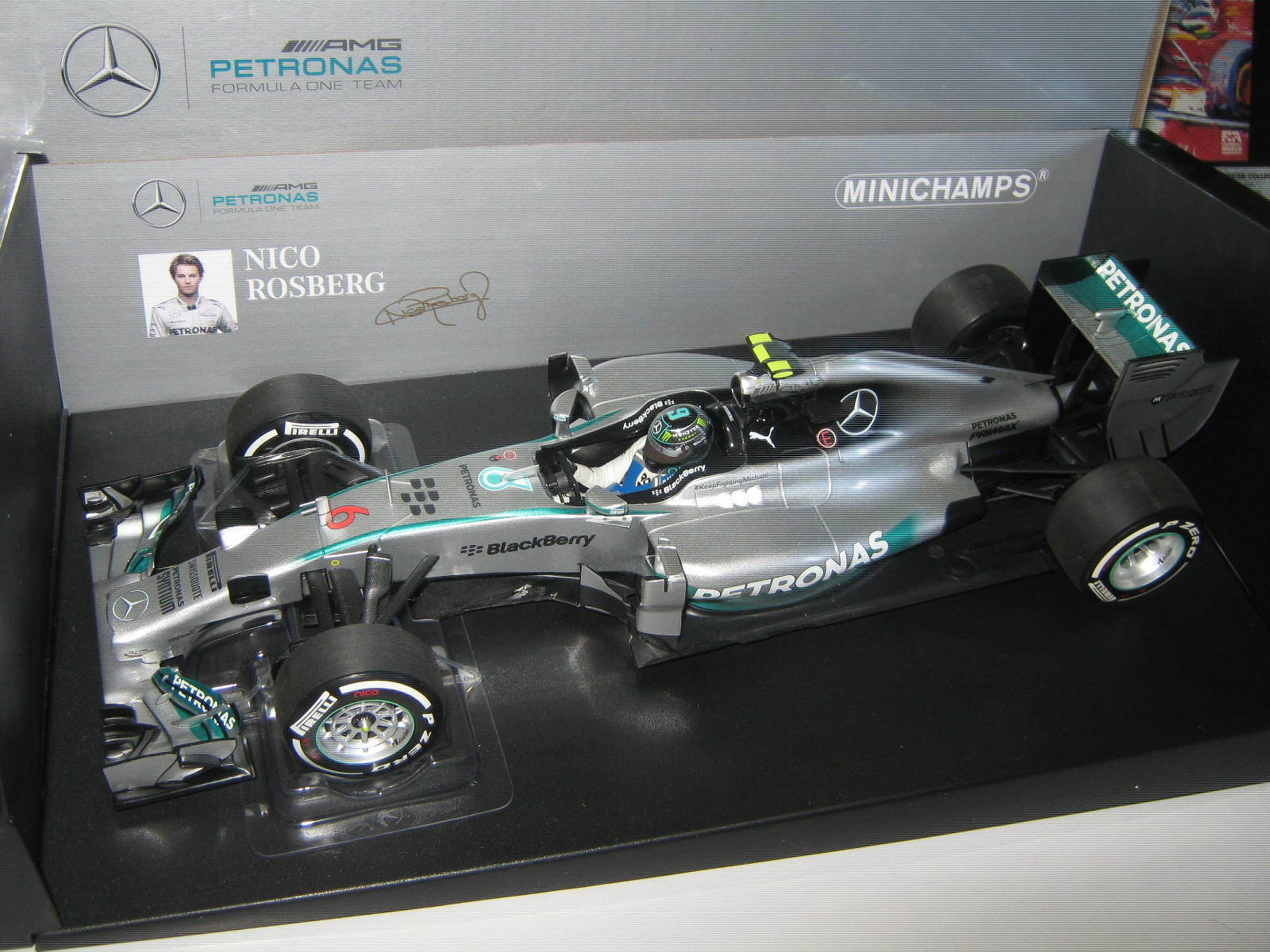 1 18 Mercedes MGP w05 2014 N.  rosberg Australian GP 110140006 Minichamps Ovp Neuf  pas de taxes