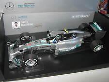 1:18 MERCEDES MGP w05 2014 N. Rosberg Australian GP 110140006 Minichamps OVP NUOVO