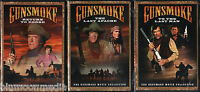 Gunsmoke 3 Movie Collection Dvd Lot Return To Dodge Last Apache To Last Man