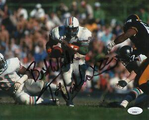 Tony-Nathan-Autograph-Signed-8x10-Photo-Miami-Dolphins-JSA-COA