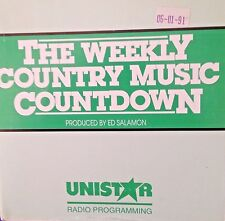 Radio Show:WEEKLY COUNTRY COUNTDOWN 10/5/91 WAYLON JENNINGS TRIBUTE w/7 INTER