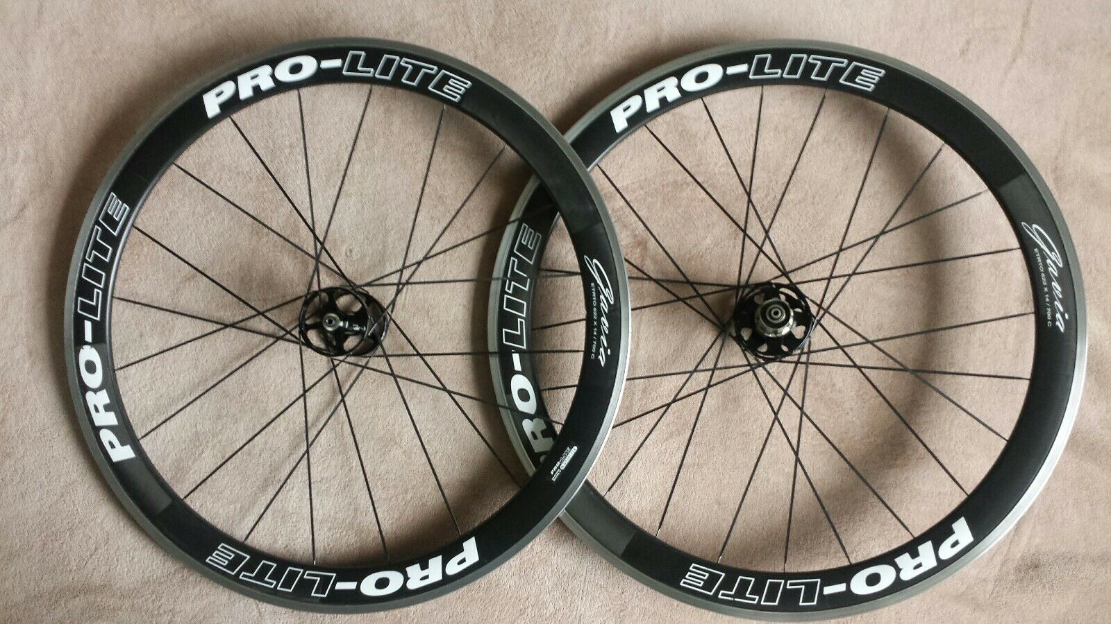 Pro Lite Gavia P55 Carbon Wheelset Bombproof RRP  BARGAIN  or offer