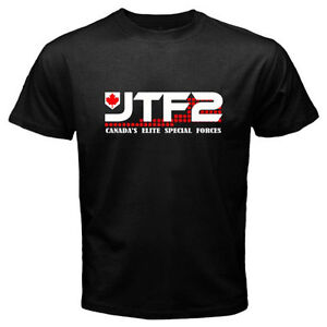 a568b5d893ad JTF2 Join Task Force 2 Canada s Elite Special Forces Men s Black T ...