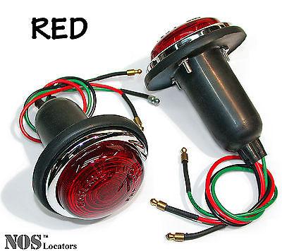 Austin, 100-4, Jaguar, MGTD TF, Morgan LUCAS L488 Stop Lamps RED - SALE