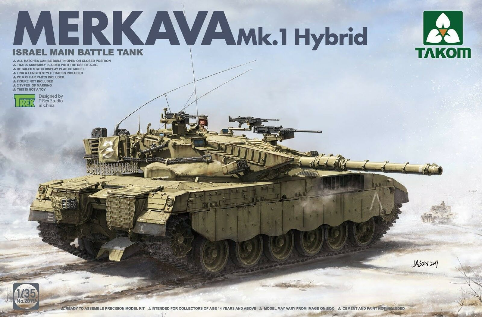 Thanksgiving et l'amour Israélien Main Bataille Bataille Bataille Réservoir Merkava 1 Hybrid 1/35 Takom | Online Store  934daa