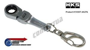 HKS 10mm Ratchet Key Ring Chain 51007-AK276 *Limited Edition*