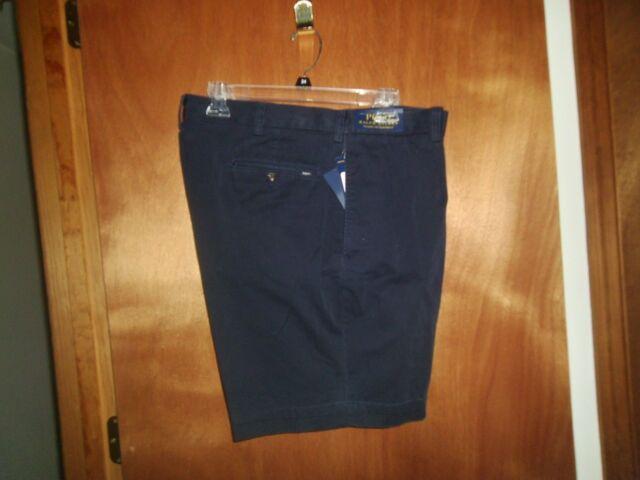 Polo Ralph Lauren Men's Shorts Sz 30 Navy Pleated Classic Fit NWT