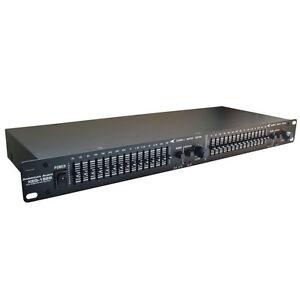 American-Audio-XEQ-152B-Dual-15-Band-Stereo-Graphic-Equaliser-Equalizer-EQ-19-034
