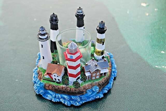 #S5647A LIGHTHOUSE CIRCLE Continental Creations #P1124 Votive Candle Holder
