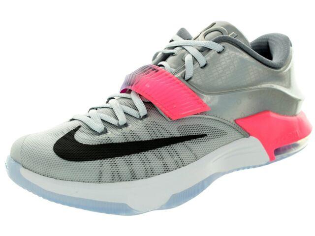 b173fb0651bf Nike Men s Kd VII AS Basketball Shoe Size 10 (742548-090) PURE PLATINUM