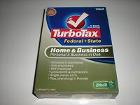 Turbotax 2007 Home & Business With State. In Box.