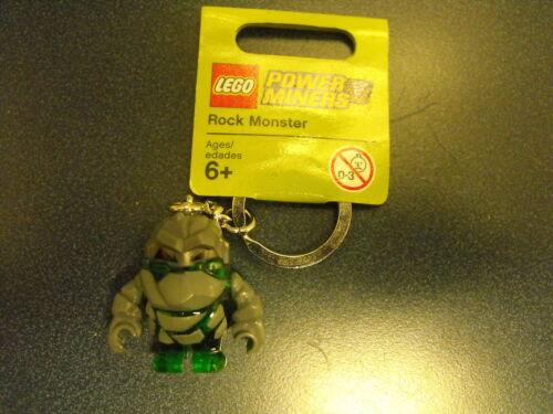 Lego Power Miners Boulderax Keychain Key Chain Key Ring Minifigure Free Shipping