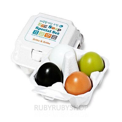 Holika Holika Egg Soap Special Set - 1Pack (4ea)