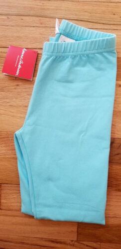 NWT HANNA ANDERSSON LIVABLE COTTON SPANDEX LEGGINGS 130 US 8 BUBBLE BLUE NEW!