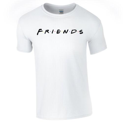 FRIENDS TSHIRT Tee Top Sitcom Comedy Retro 90/'s Casual Mens Womens Kids Unisex