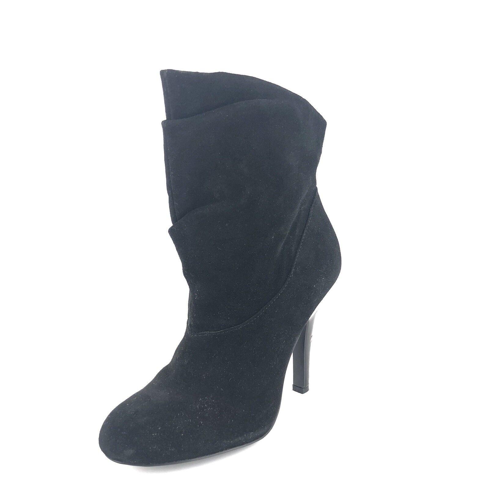 prima qualità ai consumatori Steve Madden Madden Madden donna P-Ada Suede Slouch avvioie nero scarpe Dimensione 8.5 M   110   negozio di vendita outlet