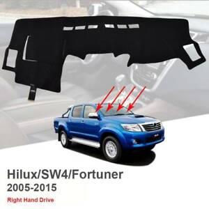 For-Toyota-Hilux-150-Series-SR-SR5-05-15-Dashboard-Cover-Dashmat-Dash-Mat-Carpet