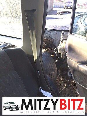 Gris nsr lh siège arrière ceinture pour mitsubishi shogun sport K94 K96 2004-2008