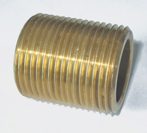 "running choose one 1//2/"" to 1/""BSP long running Brass Nipple barrel"