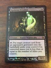 4 FOIL Agadeem Occultist Black Worldwake Mtg Magic Rare 4x x4