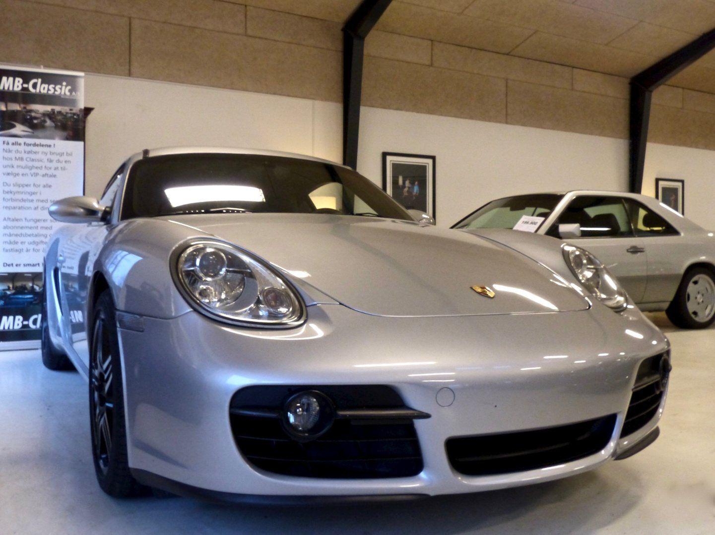 Porsche Cayman 2,7  2d