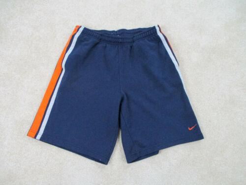 Nike Shorts Adult Medium Blue Orange Swoosh Sweat