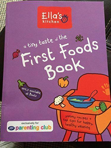 Ella's Kitchen, A tiny taste of the First Foods Book, Like New, Paperback