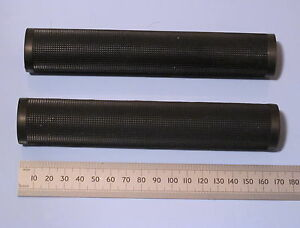 MOTO-GUZZI-LAVERDA-DUCATI-ROAD-RACING-GRIPS-PAIR-BLACK